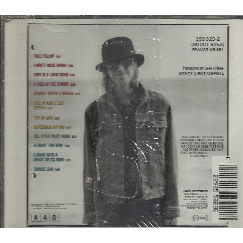 Full Moon Fever By Tom Petty Cd With Libertemusic Ref
