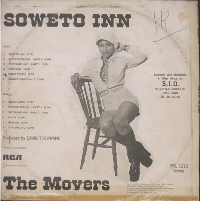 The Movers Soweto Inn