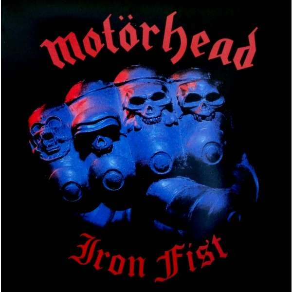 MOTÖRHEAD IRON FIST (LP) Ltd Gatefold Poch Reissue 2003 -Italy