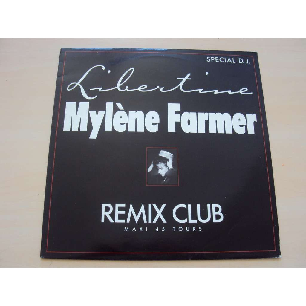 MYLENE FARMER LIBERTINE 1986 FRANCE