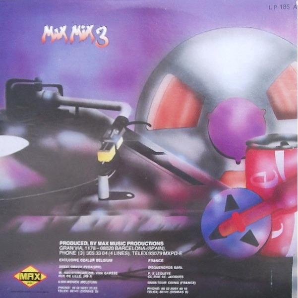 MAX MIX 3 MAX MIX 3 , el tercer megamix espanol - 3mix
