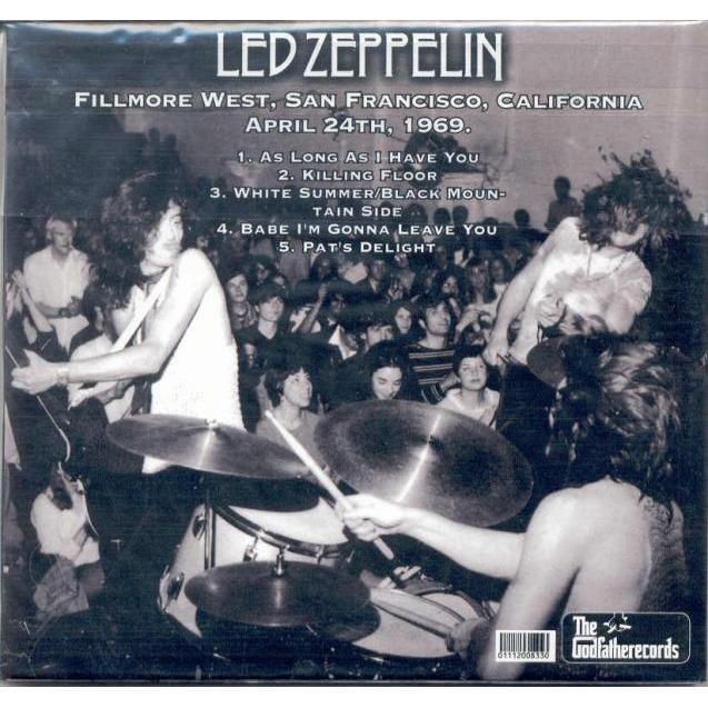 Led Zeppelin The Dancing Avocado (Fillmore West San Francisco CA 24.04.1969)