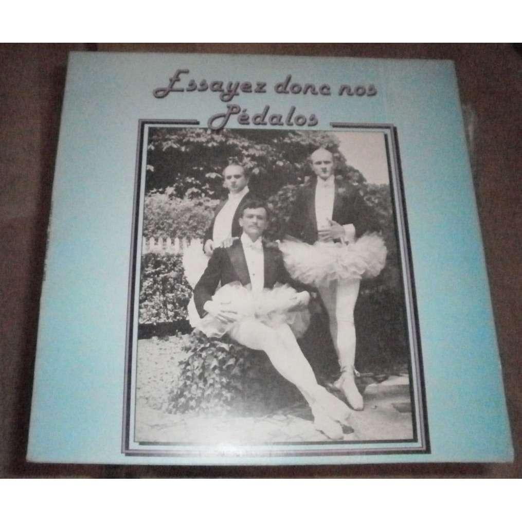 essayez donc Shop essayez donc nos pedalos - alain marcel's essayez donc nos pedalos dédicacé lp for sale by vinylsjunkie at 7200 € on cdandlp - ref:114814557.