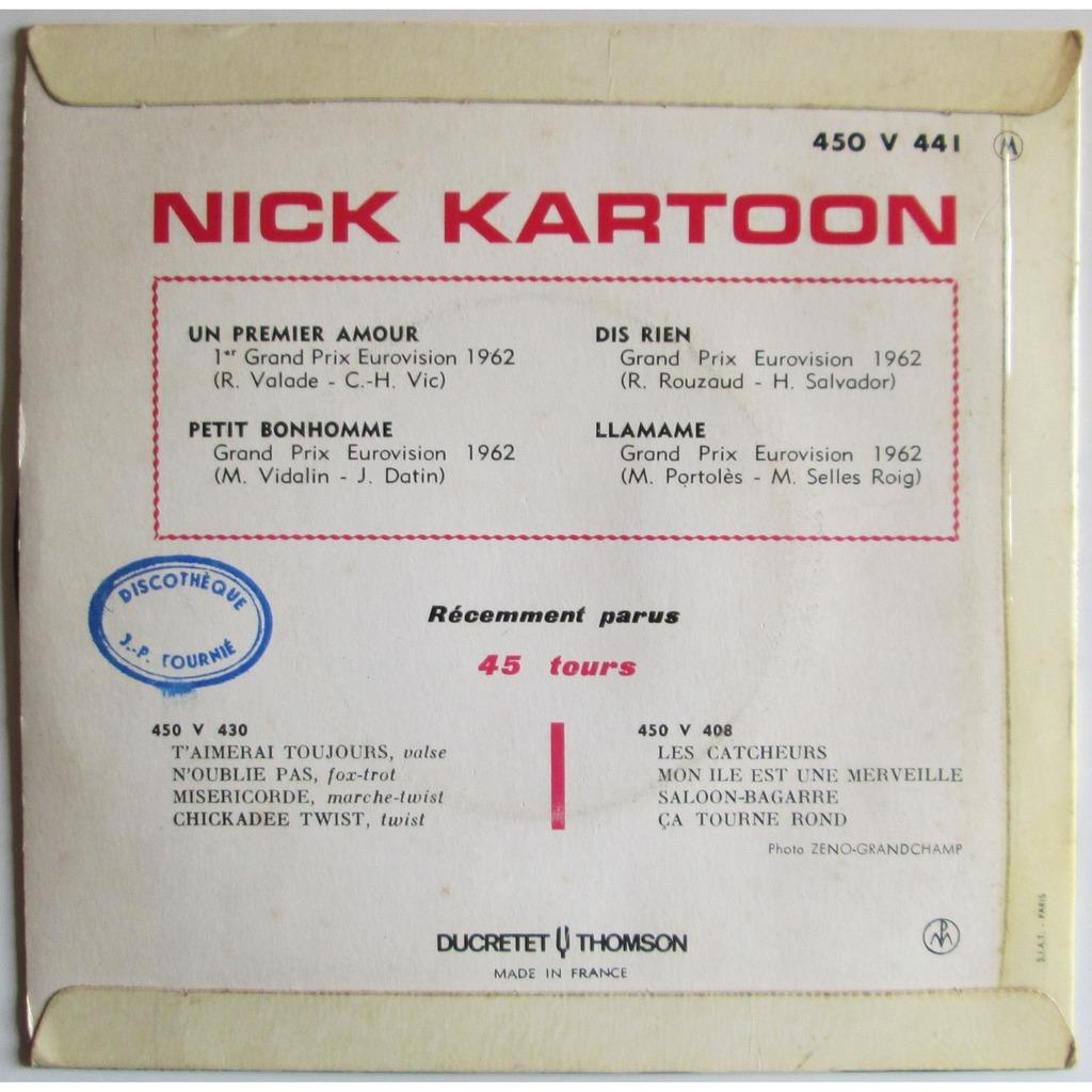 nick kartoon et ses tueurs a gages un premier amour +3