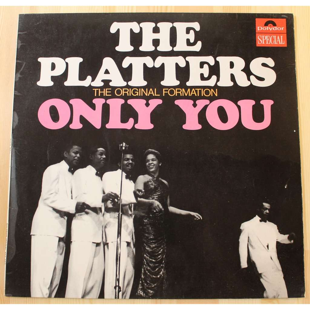 only you by the platters lp with moon records ref 117032474. Black Bedroom Furniture Sets. Home Design Ideas