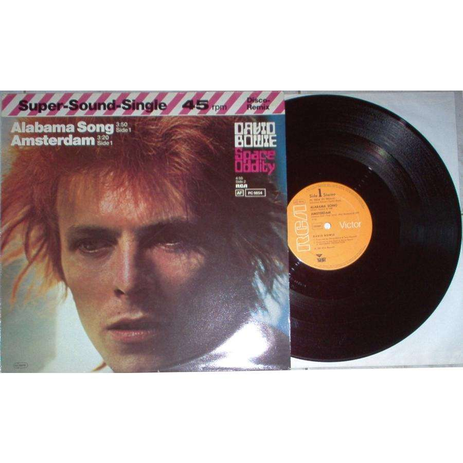 David Bowie Alabama Song (German-only 1982 Ltd 3-trk 12 unique ps)