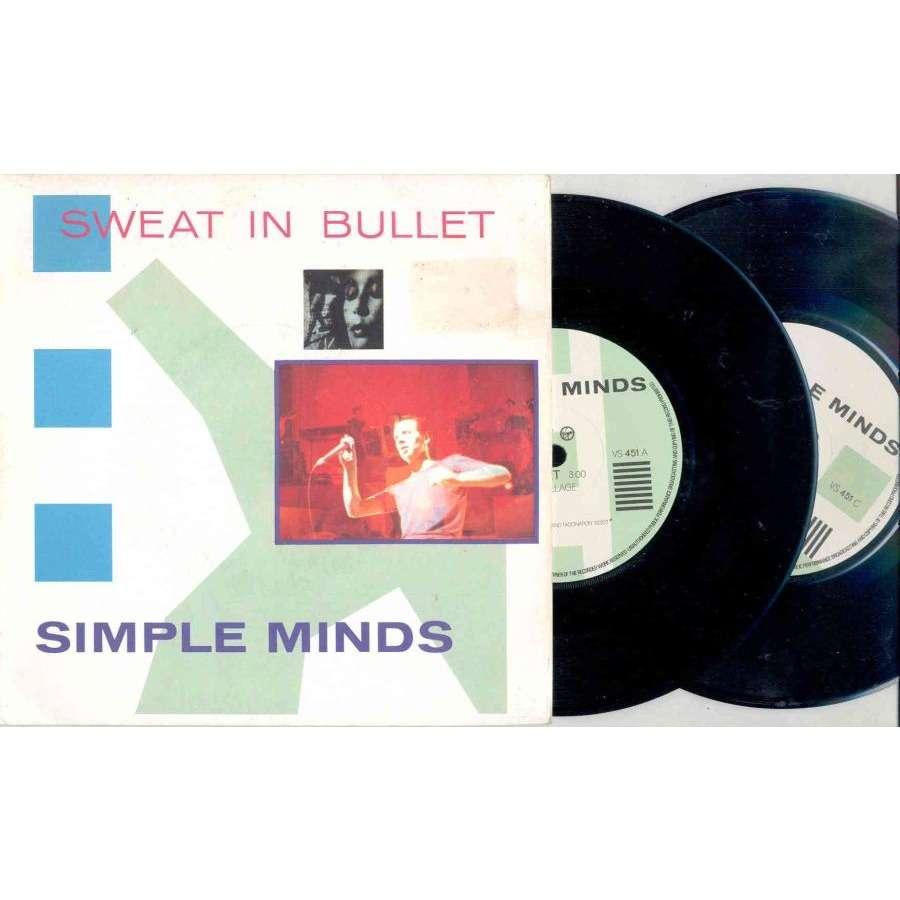 Simple Minds Sweat In Bullet (UK 1981 Ltd 4-trk 7 double Pack unique gatefold ps)
