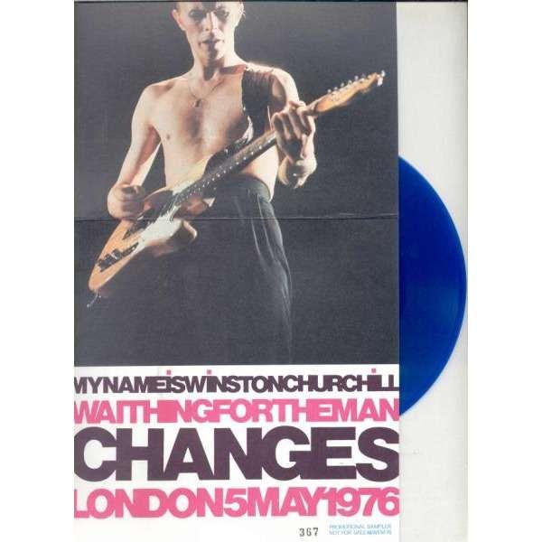 david bowie Changes (London 05.05.1976) (Euro 1987 Ltd 500 No'd copies 2-trk live 7 BLU vinyl gf ps)
