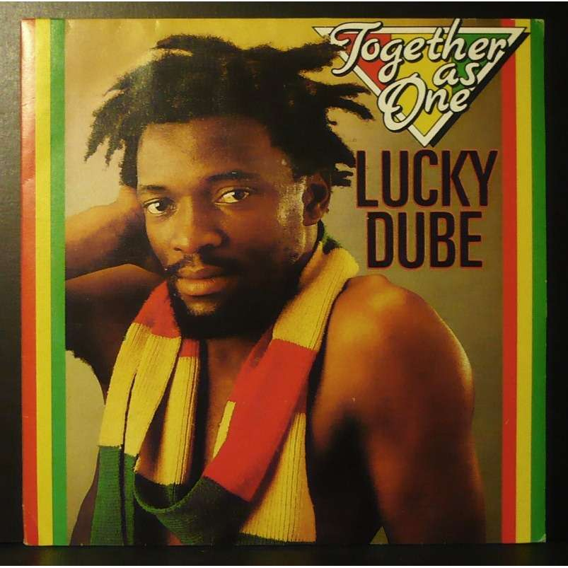 Together As One By Lucky Dube Sp With Vinyloffice Ref