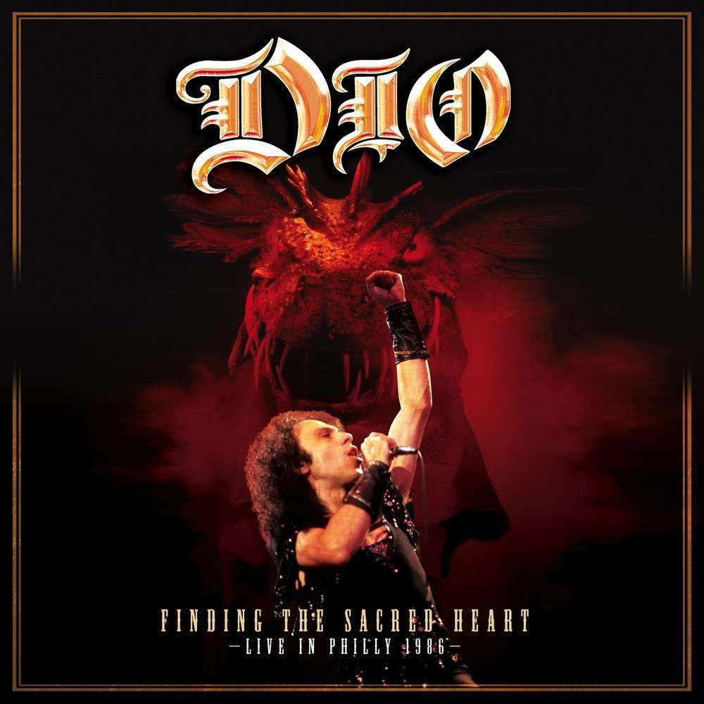 DIO Finding the Sacred Heart-Live (2xlp) Ltd Edit Gatefold Poch -Ger