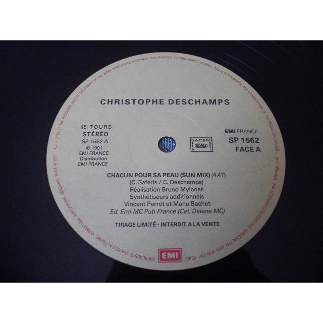 christophe deschamps chacun pour sa peau