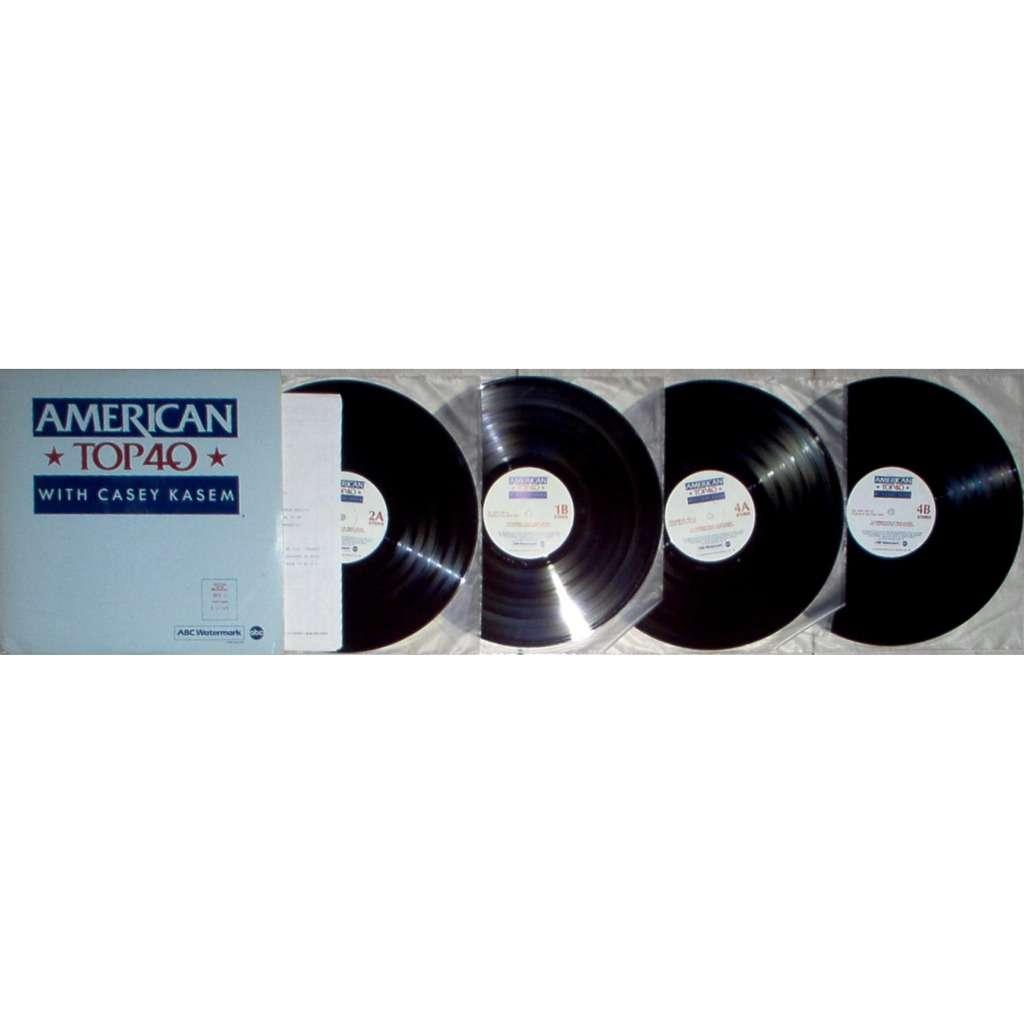 David Bowie american top 40 cycle no. 853-11 (usa 1985 promo 'abc' 4lp radio show+cues)