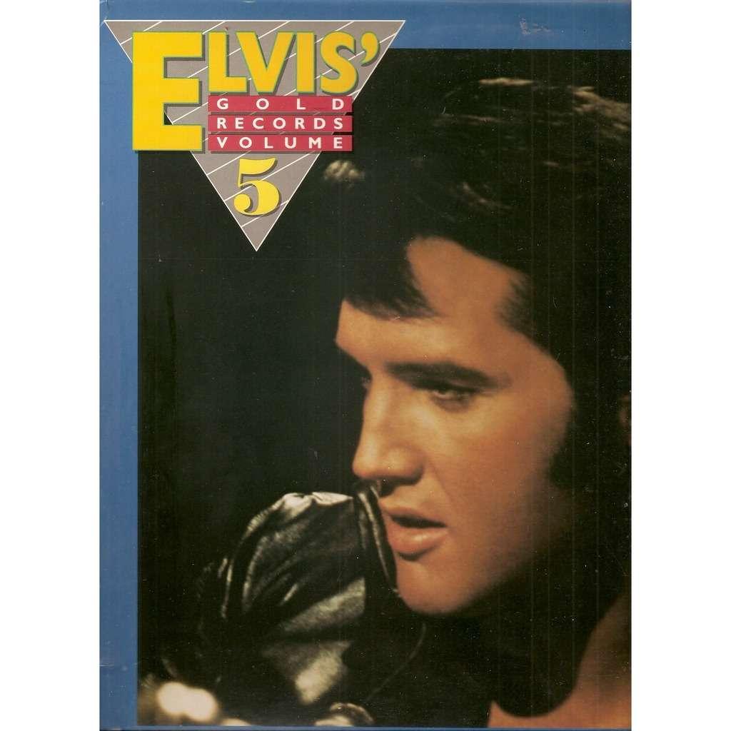 elvis u0027 gold records volume 5 by elvis presley lp with galgano