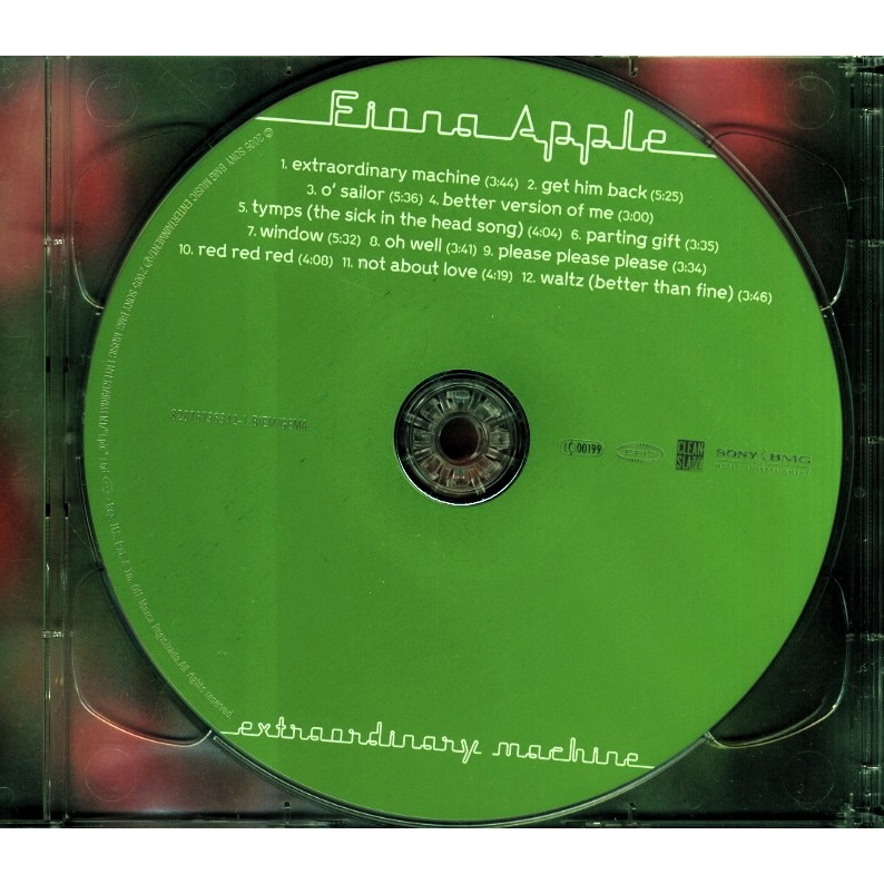 fiona apple extraordinary machine