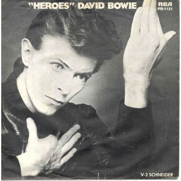 Image result for David Bowie - Heroes (1977)