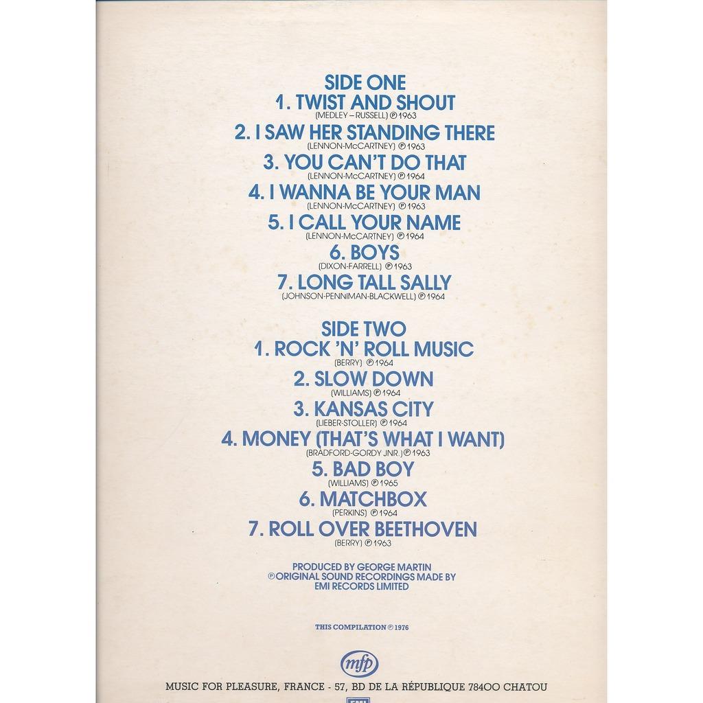 BEATLES Rock' n' roll music - VOL 1