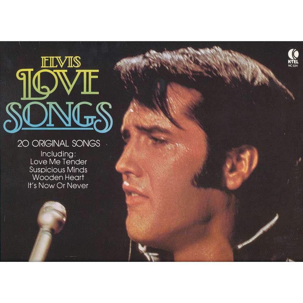 Elvis romantic songs