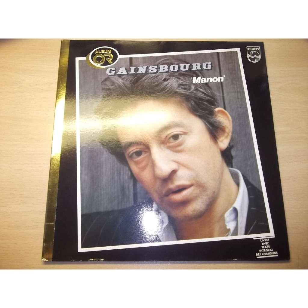 Serge GAINSBOURG  Album or - Manon