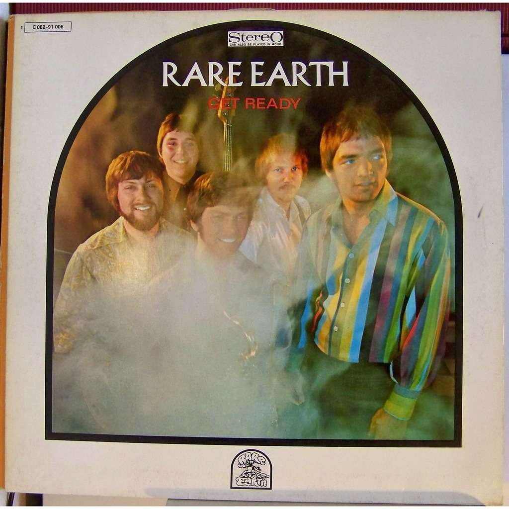 Get Ready By Rare Earth Lp With Bluejazzman Ref 117054330