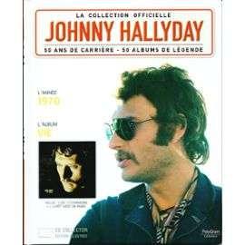 hallyday johnny 50 ans de carrière 1970