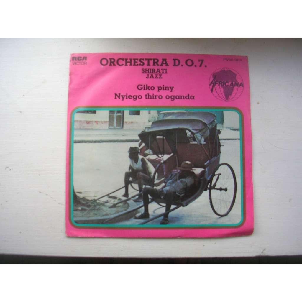 orchestra d.o.7 shirati jazz giko piny / Nyiego thiro oganda