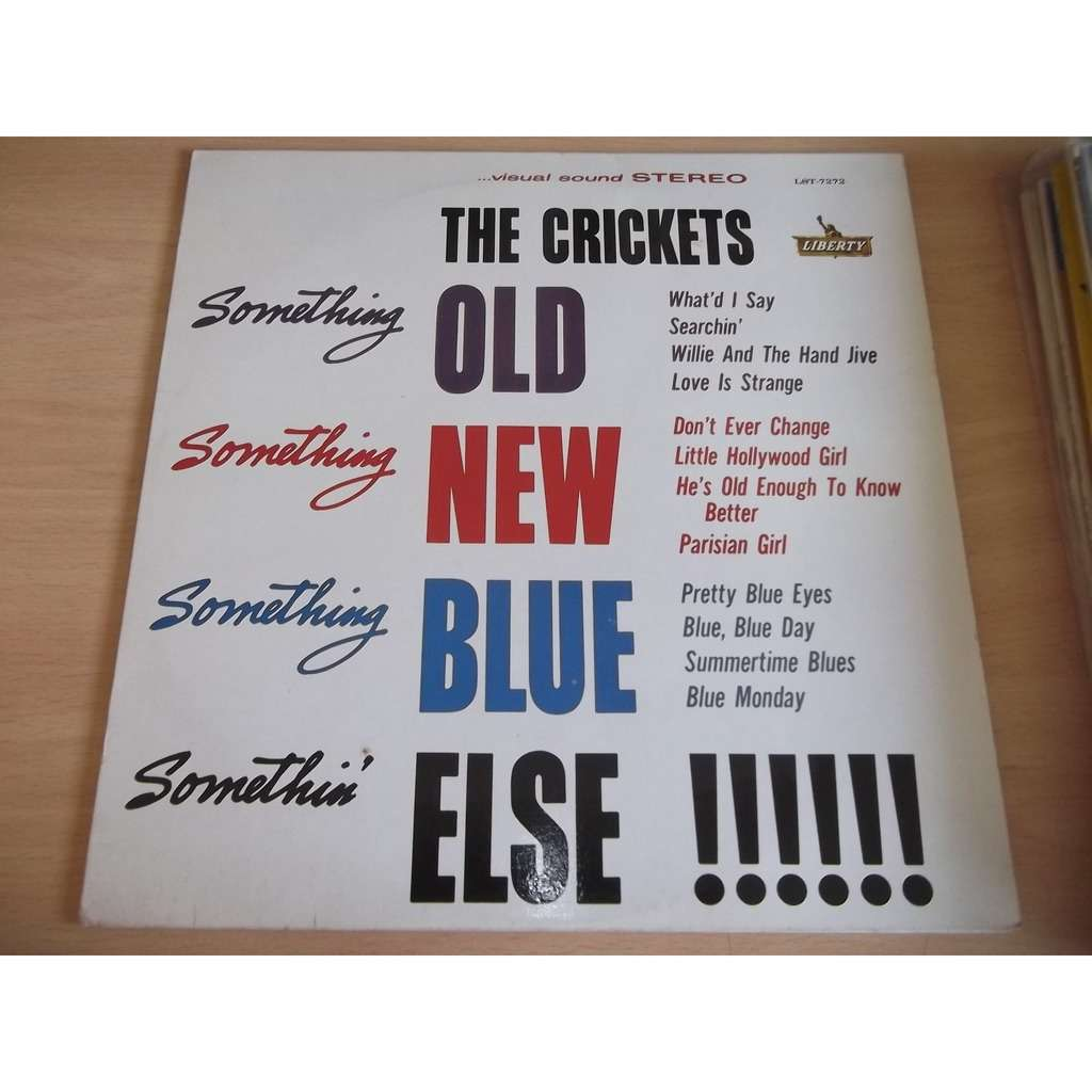 CRICKETS, The Something old Something new (Reissue)