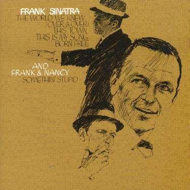 frank sinatra SOMETHING STUPID
