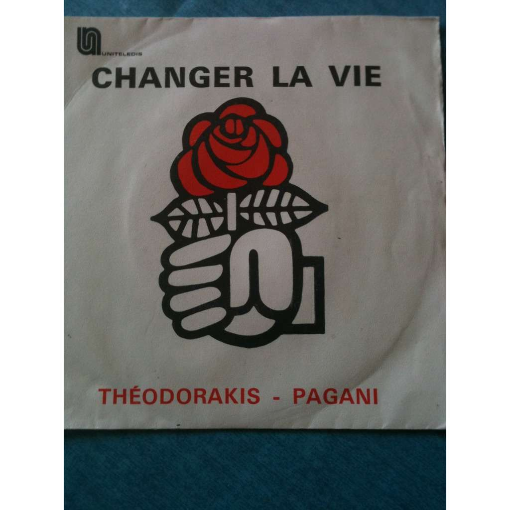 THEODORAKIS - PAGANI Changer la vie