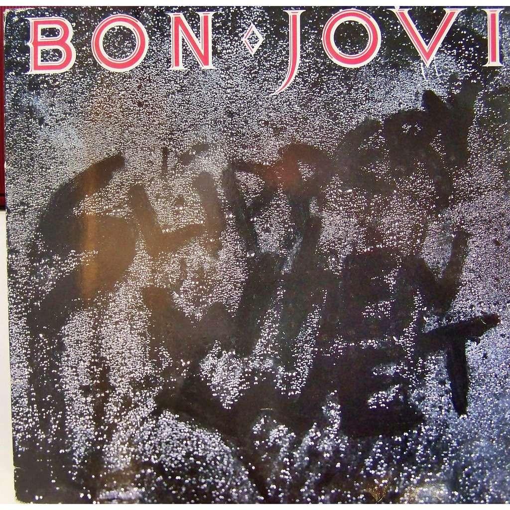 Bon Jovi Slippery When Wet Lp For Sale On Cdandlp Com