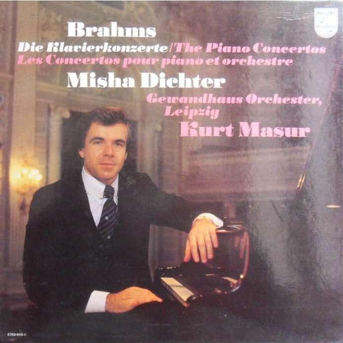 Prestigious pianist Misha Dichter at the Tuesday Evening Concert ...