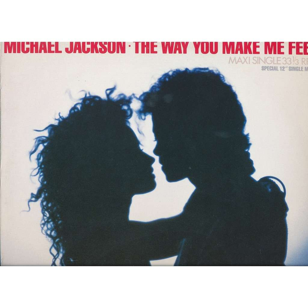 The Way You Make Me Feel By Michael Jackson 12inch With