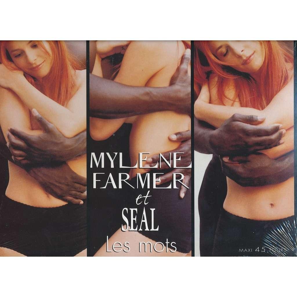 FARMER Mylène et SEAL Les mots