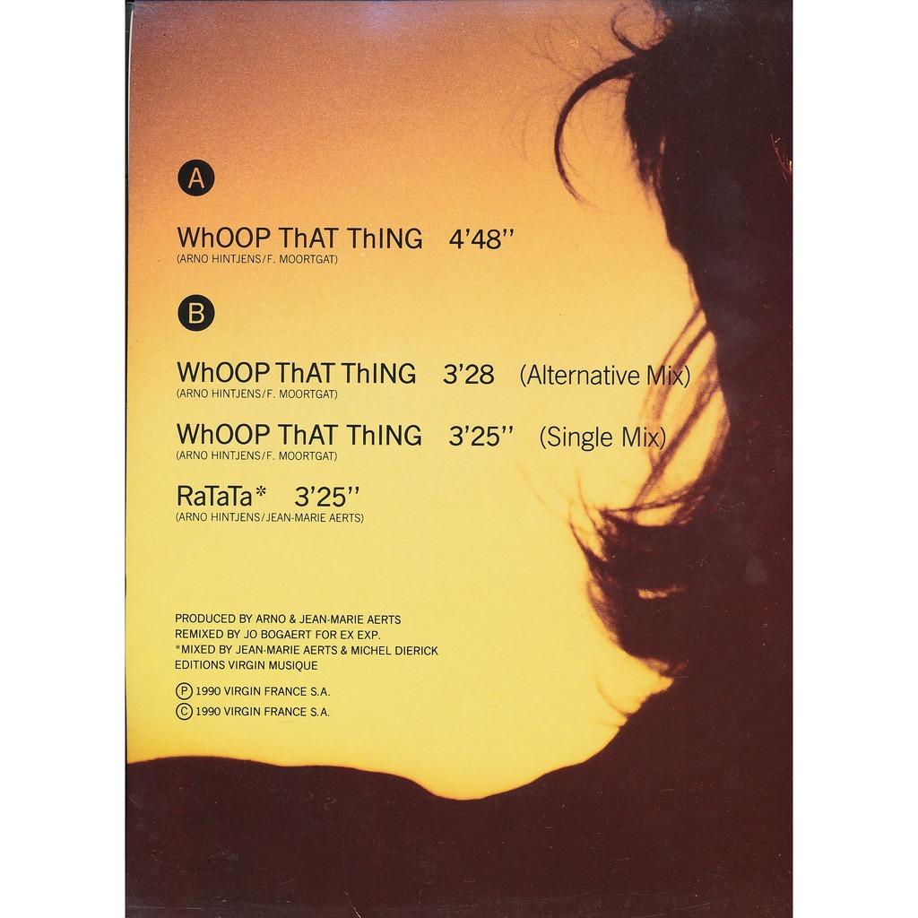 ARNO remix JO BOGAERT Whoop tht thing - Ratata