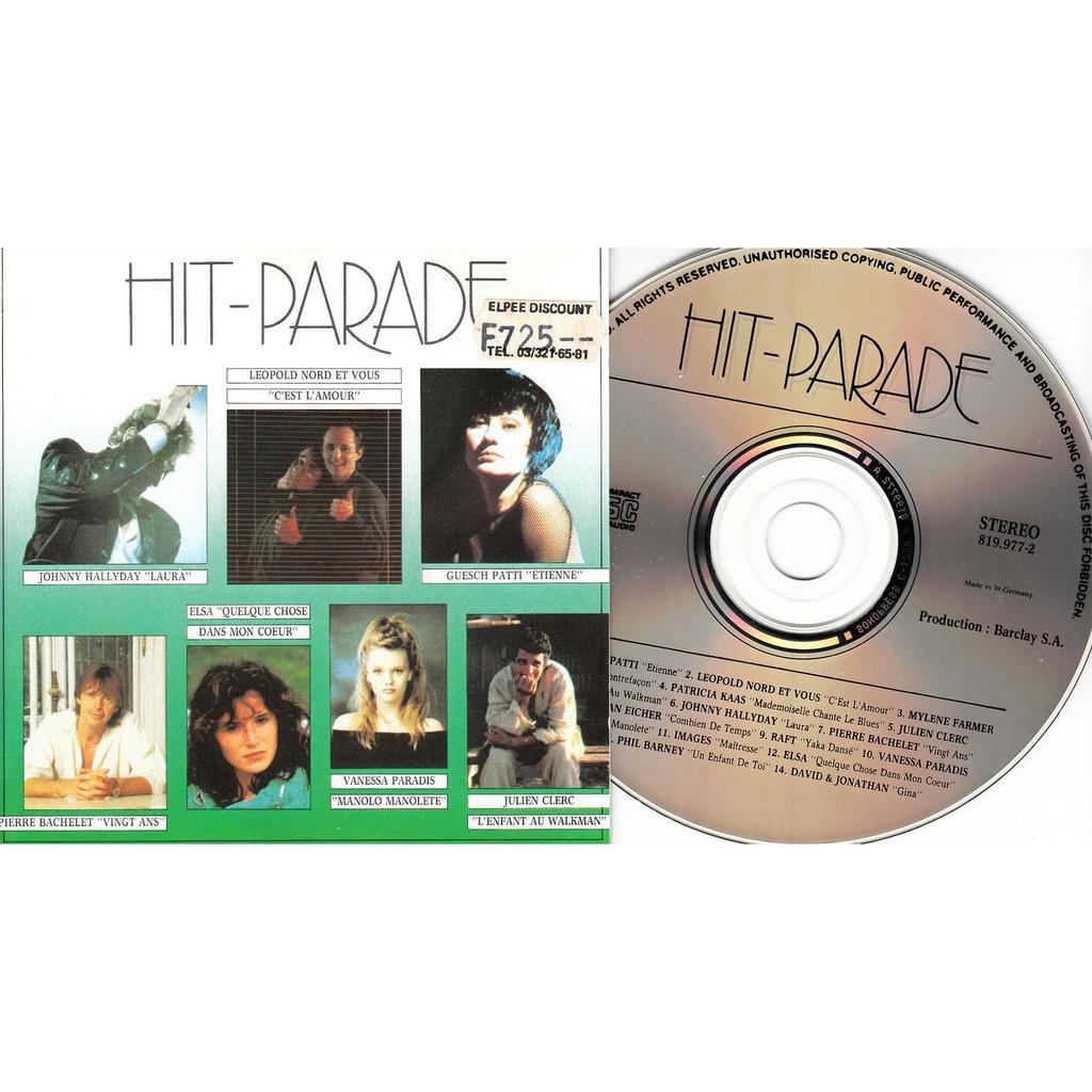 Mylène Farmer / Johnny Hallyday / Vanessa Paradis Hit-Parade 87