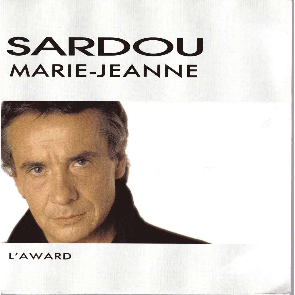 michel sardou Marie-Jeanne / L'award
