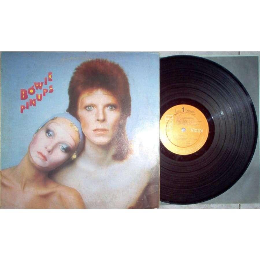 David Bowie Pinups (Italian 1973 original 12-trk LP full ps & inner slv)