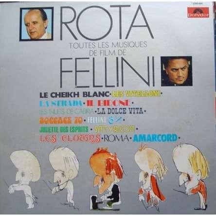 nino rota toutes les musiques de film de fellini