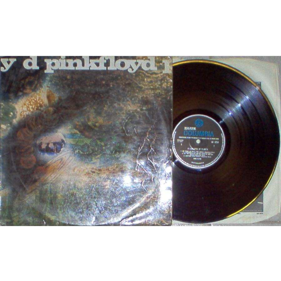 Pink Floyd A Saucerful Of Secrets (UK 1968 original 'MONO' 7-trk LP laminated flipback ps & EMI inner slv)