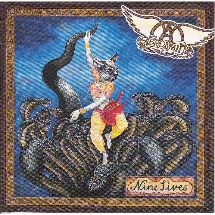 Nine Lives By Aerosmith Cd Bonus With Collector89 Ref