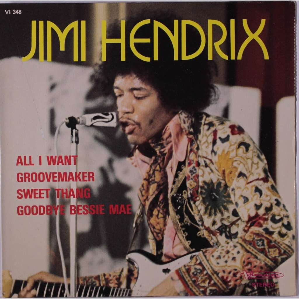JIMI HENDRIX all i want +3