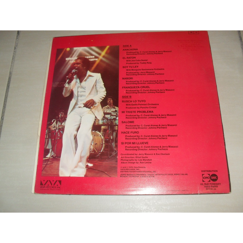 Cheos Rainbow By Cheo Feliciano Lp With Oliveblues Ref117145715