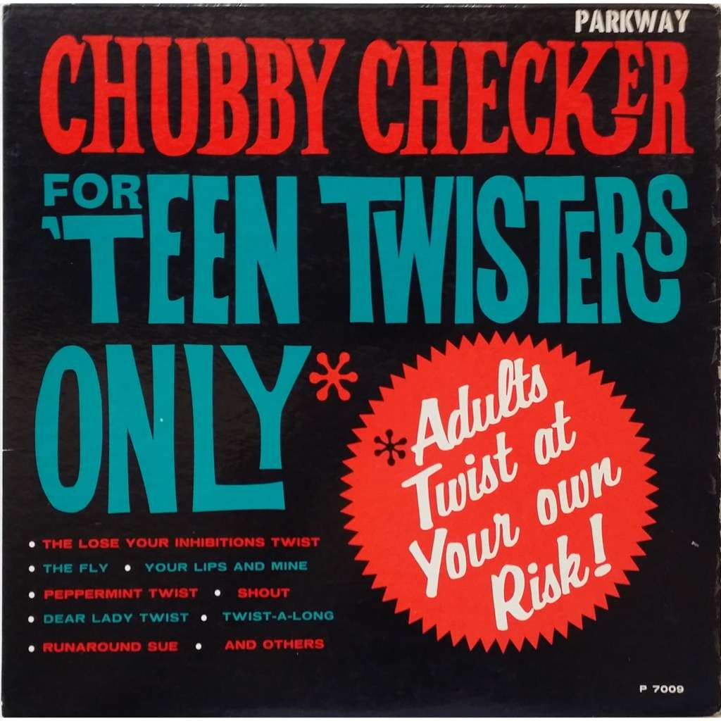 CHUBBY CHECKER for 'teen twisters only, LP for sale on jetrecords.fr