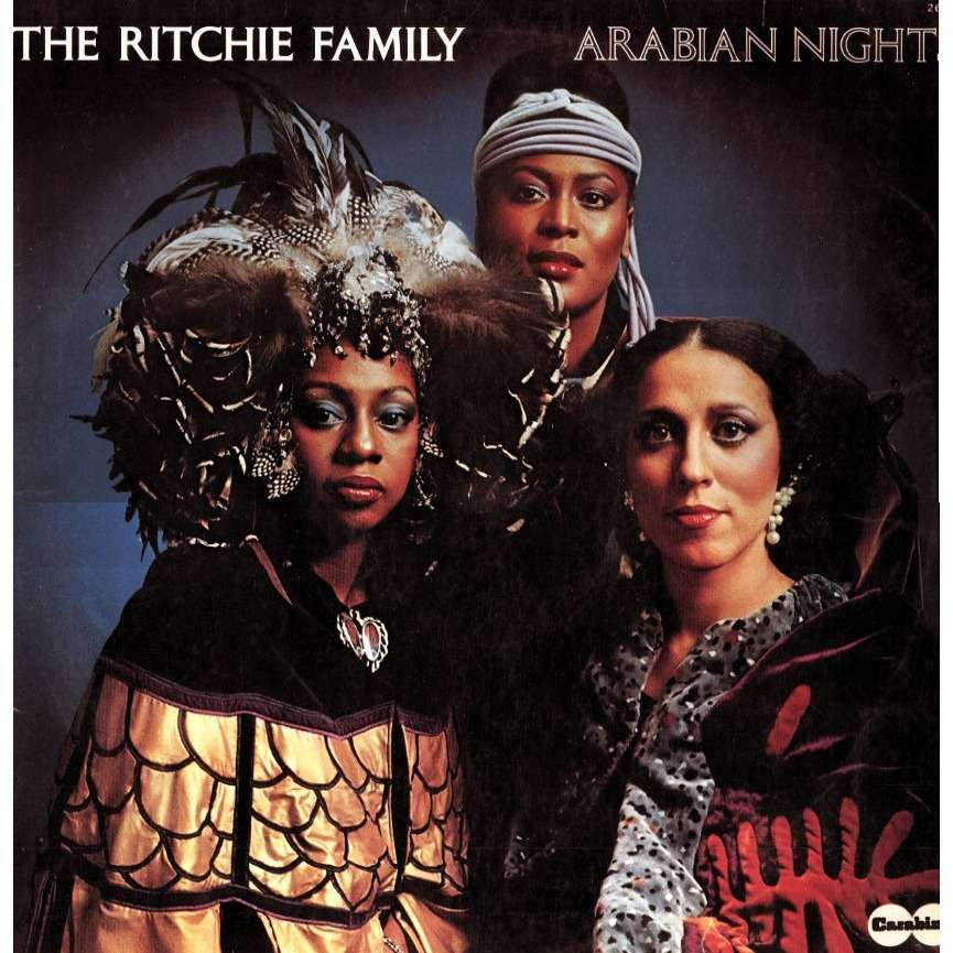 Arabian Nights By The Ritchie Family Lp With Crypto77