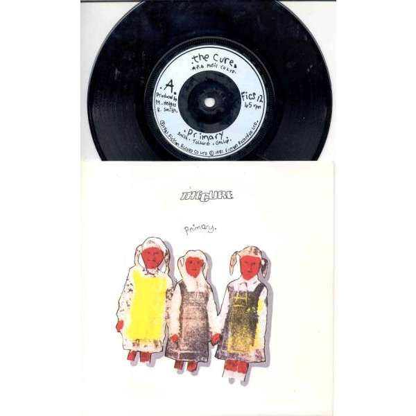 CURE Primary (UK 1981 2-trk 7single full ps)