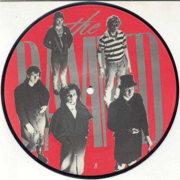DAMNED Thanks for the night (UK 1986 Ltd 2-trk 7single Picture Disc)