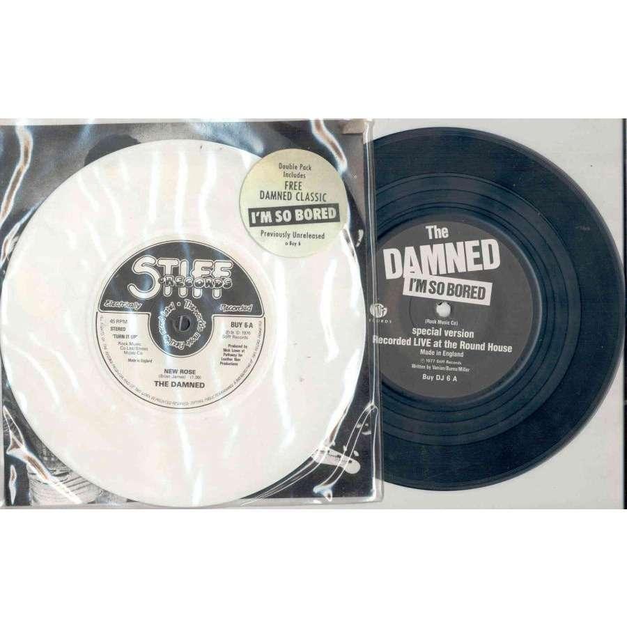 DAMNED New Rose (UK 1977 Ltd 3-trk double 7single set stickered slv & insert)