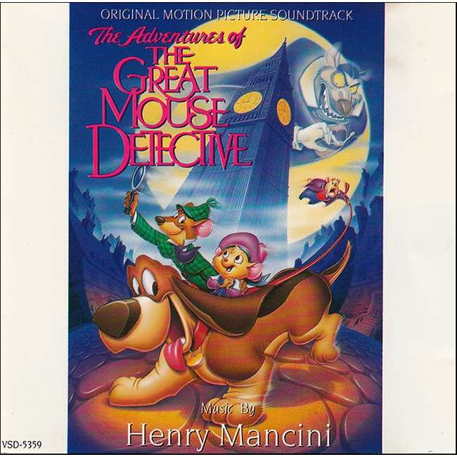 henry mancini The Great Mouse Detective