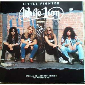 White Lion Little Fighter Poster Cover