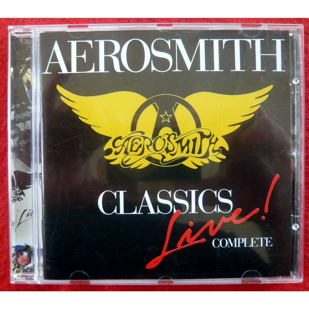 Classics Live Complete By Aerosmith Cd With Discoccase