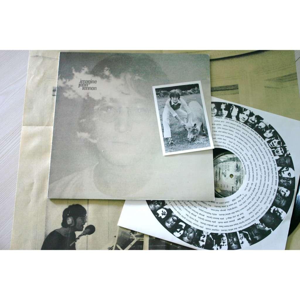 John Lennon Imagine Complet Poster Photo